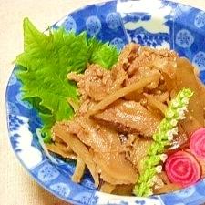 減塩☆牛肉のしぐれ煮