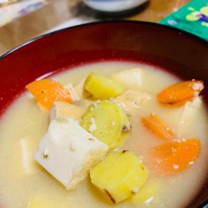 さつま芋のお味噌汁