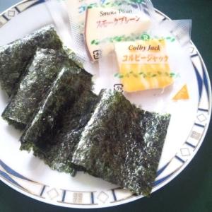 【超簡単 おつまみ】めんたいチーズ海苔