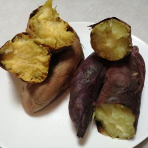 レンジとオープンで時短☆焼き芋