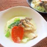 簡単!鶏むね肉と野菜のヘルシー豆乳鍋