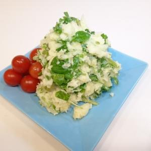 クレソンのポテトサラダ