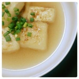 簡単しみウマ♪揚げ出し豆腐