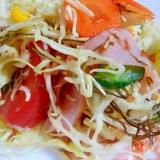 【絵本レシピ】りっちゃんが作ったサラダ