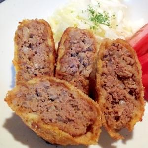 牛ひき肉のメンチカツ