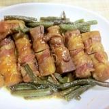 凍み豆腐の肉巻甘辛煮