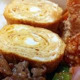 *お弁当おかず* 醤油麹とみりんの厚焼き卵