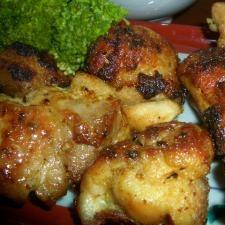 わが家の簡単♪ 鶏もものカレーバター焼き