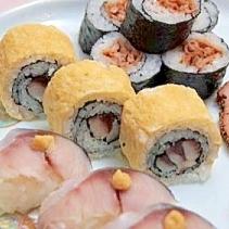 鯖の卵巻き寿司