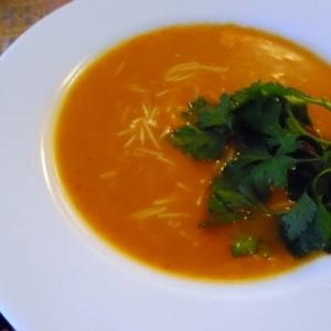 トルコ料理★シェフリエ入りタルハナスープ
