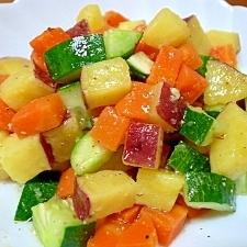 さつま芋の簡単☆さっぱりサラダ♪