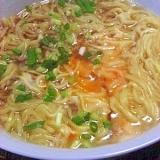 マルちゃん正麺で作る 卵とじ醤油ラーメン