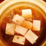 牛丼リメイクの肉豆腐