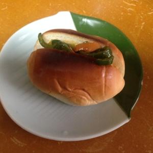 人参とピーマン(*^^*)野菜炒めロールパン★