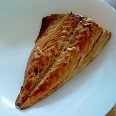 鯖ポン酢焼き
