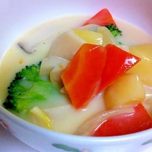 野菜たっぷりのクリームシチュー