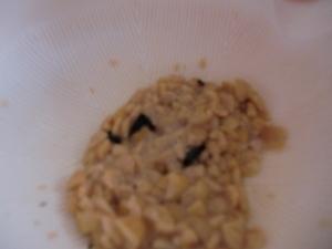 ひきわり納豆とのり離乳食
