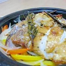 ローズマリー香る☆鶏のハーブ焼き