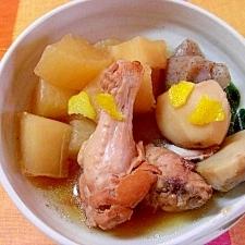 鶏手羽肉と里芋の煮物
