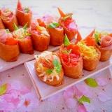 ひな祭り♪節句のお祝い♪イベント♪☆デコいなり寿司