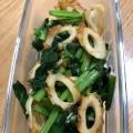 【節約レシピ】ちくわと小松菜のカレー炒め