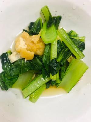 めんつゆで簡単♪小松菜の煮浸し