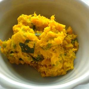 【レンジで手間なしお弁当】かぼちゃのマヨサラダ