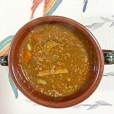 豚挽肉、茄子、エリンギのカレー