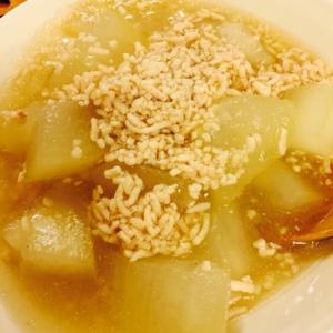 冬瓜と鳥挽肉の煮物