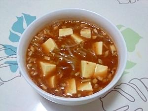 ダイエット用!カレー麻婆麺++