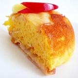 炊飯器でホットケーキミックスと豆乳とりんごのケーキ