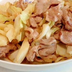 豚肉とキャベツのみの回鍋肉