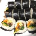 キンパ(キムパブ) 韓国風海苔巻