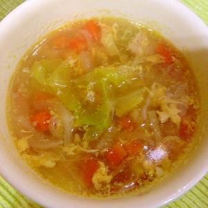 残り物野菜で栄養満点!野菜スープ♪