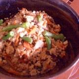 めんつゆで★ありもの野菜の炒り豆腐