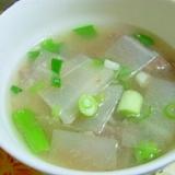 韓国・シンプルな牛肉と大根のスープ