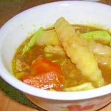 定番★冷凍ポテトでカレースープ