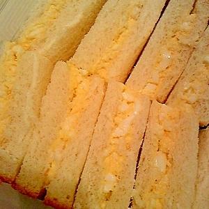 簡単美味しい^^生塩糀でコク深い卵サンド