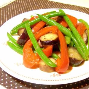 カラフル野菜のホットサラダ