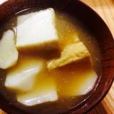 【ガサツ料理】山芋と厚揚げの食べ応え満点味噌汁