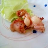 【簡単酒肴】鶏軟骨の炒め物