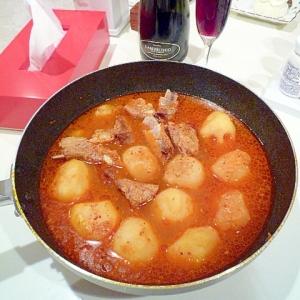 ホクホクじゃが芋とスペアリブの鍋♪