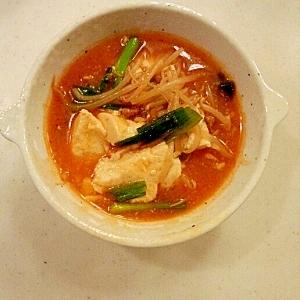 豆腐のチゲスープ