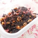 ❤ひじきと大豆と桜エビの炊いたん❤