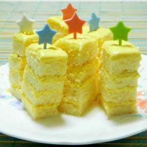 レモンチーズの1口ケーキ