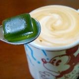 風邪引きさんのための爽快☆彡喉飴入り生姜カフェオレ