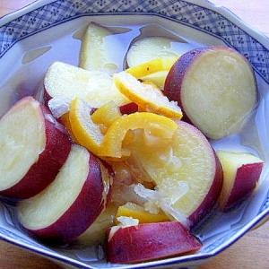 おもてなしにも❤シルクスイート(薩摩芋)の柚子煮♪