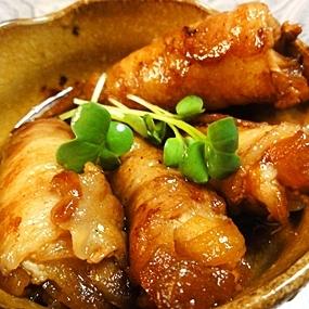 豚肉のオニオン巻き