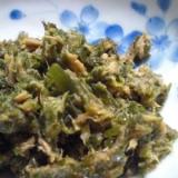 切り昆布とツナ缶の和風炒め煮