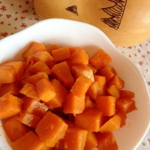ピーナツかぼちゃのコロコロバター醤油☆彡